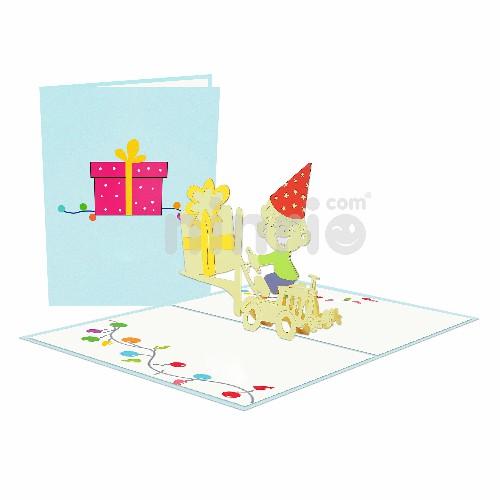 Thiệp Quà sinh nhật 3D – Thiệp pop up sinh nhật