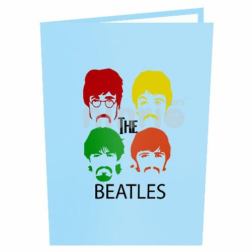 Thiệp nhóm nhạc Beatles - Thiệp âm nhạc