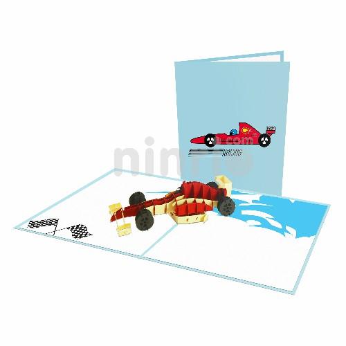 Thiệp xe đua F1 – Thiệp thể thao