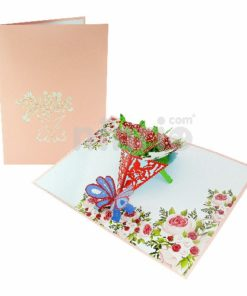 Tulip Card – Flower 3D Card