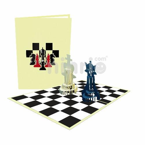 Thiệp Cờ vua 3D – Thiệp thể thao