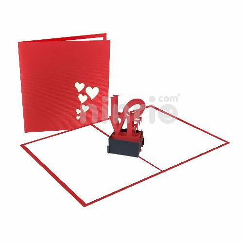 Thiệp Biểu tượng tình yêu - Thiệp tình yêu Valentine