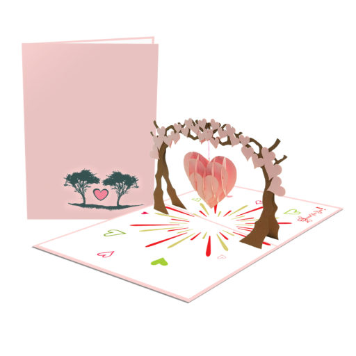Tree 3D Card - Birthday Card