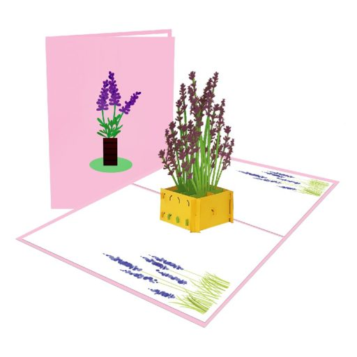 Flower Vessel Popup Card