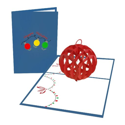 Christmas Ball 3D Popup Card