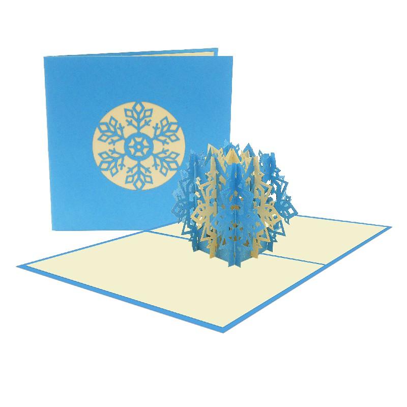 Snowflake 3D Popup Card