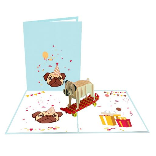 Dog 3D Card - Animal Card