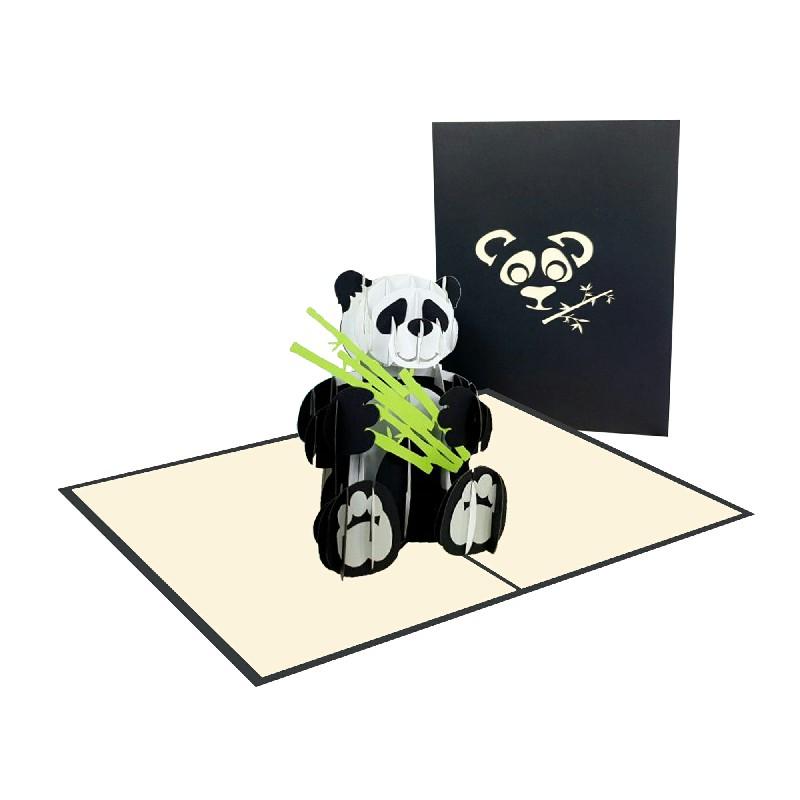 Panda Card – Animal 3D Card