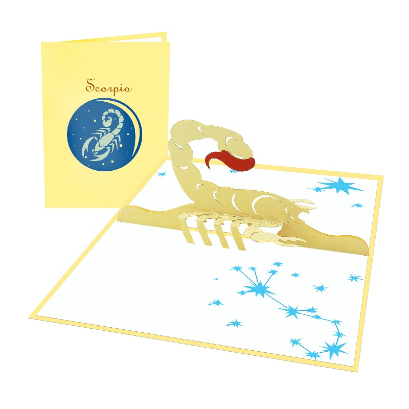 Scorpio Card - Zodiac Card