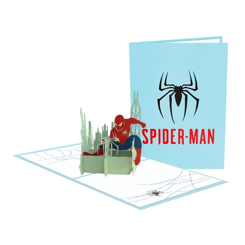 Spiderman 3D Card - Birthday Card
