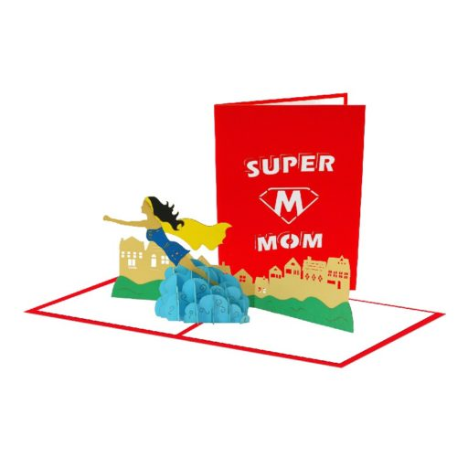 SuperMon 3D Popup Card