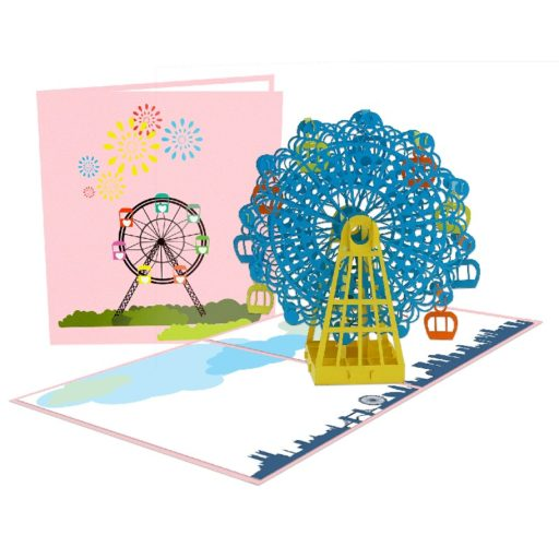 Ferri Wheel popup card