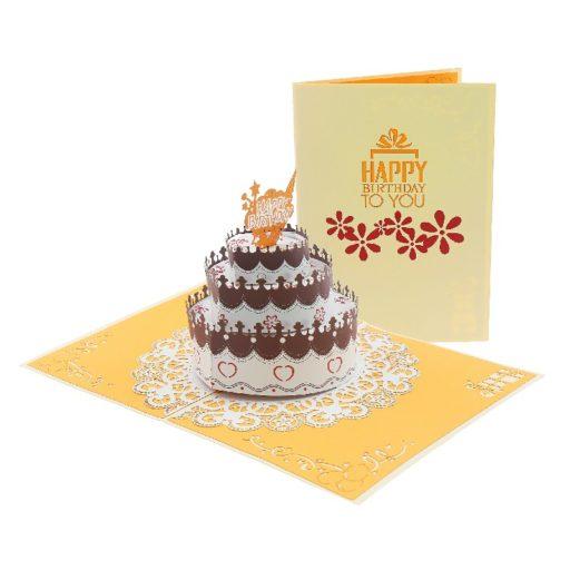 Birthday Cupcake Popup Card