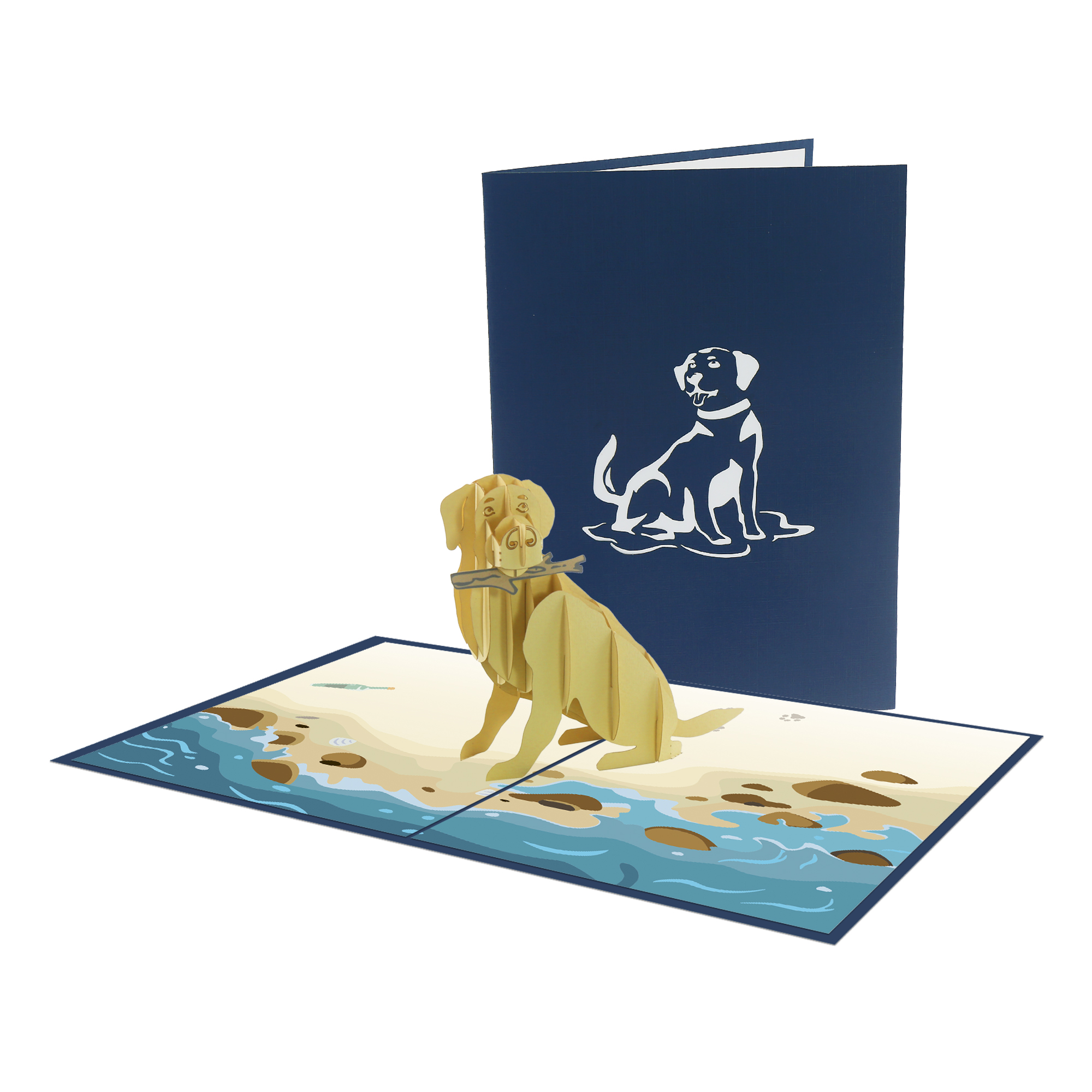 Animal 3D Card - Dog Card