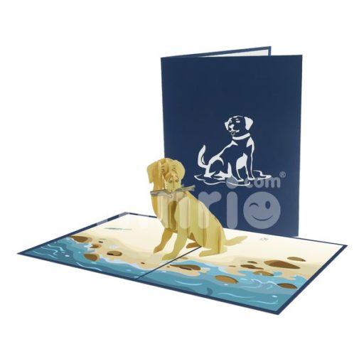 Thiệp động vật - Thiệp Chó 3D