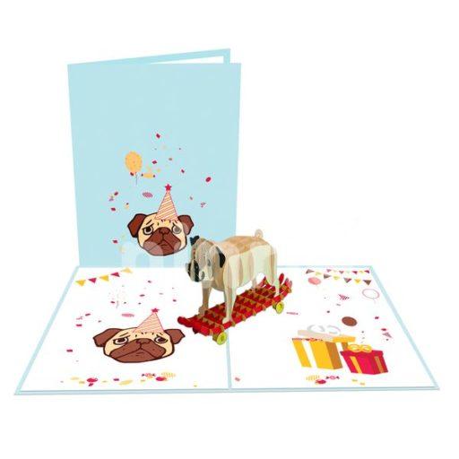 Dog 3D Card - Animal Card