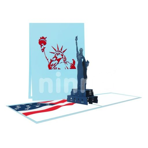 Statue of Liberty Card – Building 3D Card