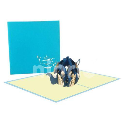 Teapot Card – Japan 3D Card