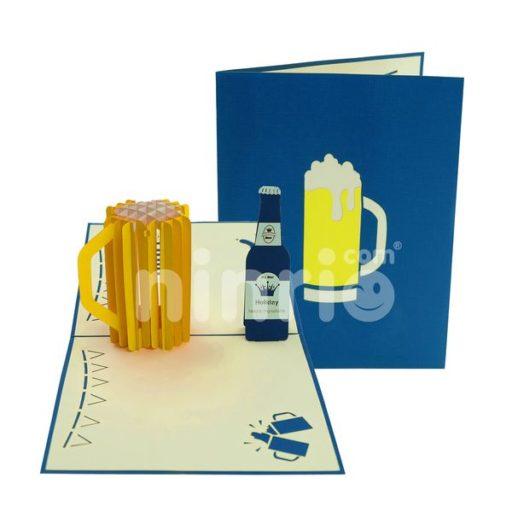 Beer Card – Viet Nam 3D Card