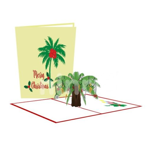 Palm Card – Christmas 3D Popup Card