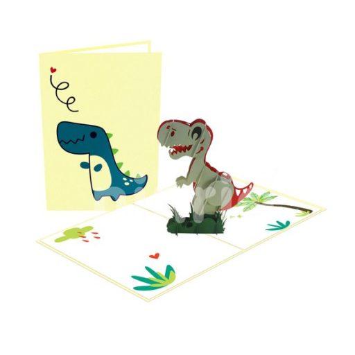 Baby Dinosaur Card – Animal 3D Popup Card