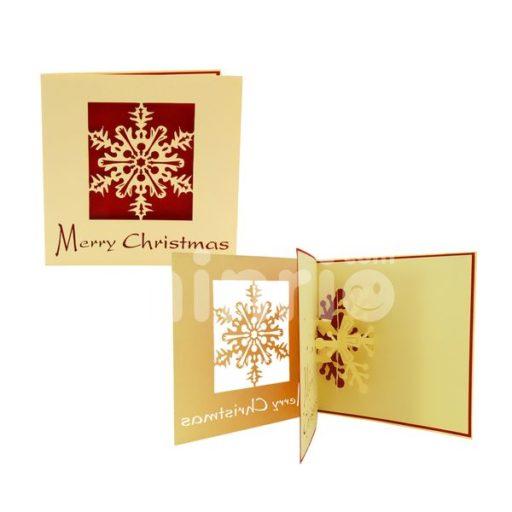 Snowflake Card - 3D Popup Card