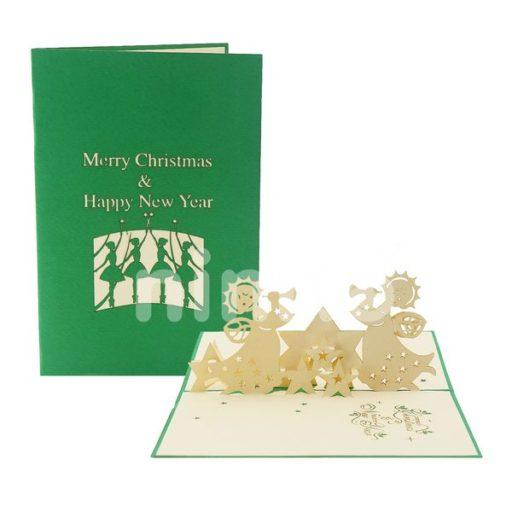 Trumpet Card - Christmas 3D Card