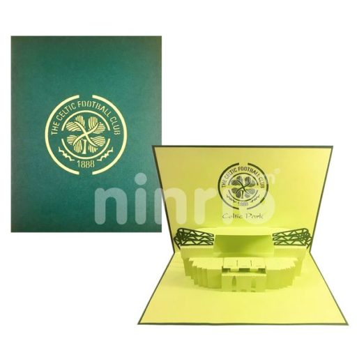 Celtic Stadium Card – Stadium 3D Popup Card
