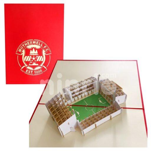 Motherwell Card – Stadium 3D Popup Card