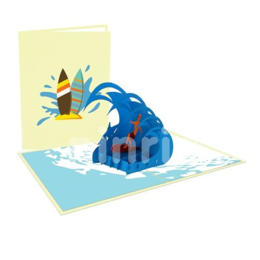 Surfer Boy – Sport 3D Card