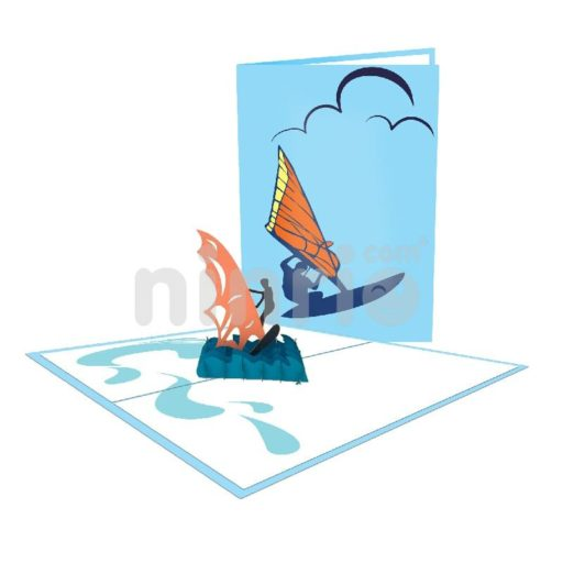 Thiệp người lướt sóng – Thiệp thể thao