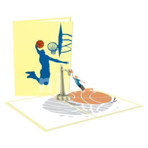 Basketball Card - Sport 3D Popup Card