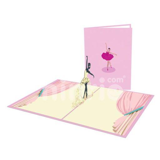 Ballet Card - Sport 3D Popup Card
