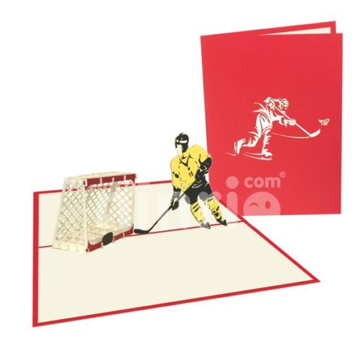 Hockey Card - Sport 3D Card