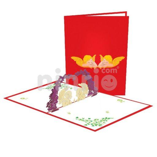 Baby Angel Card – Birthday 3D Popup Card