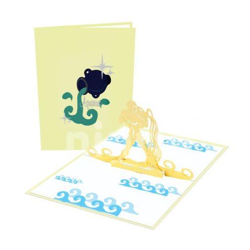 Aquarius Card – Zodiac Card