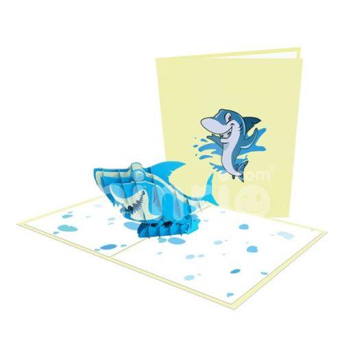 Shark Card – Animal 3D Popup Card