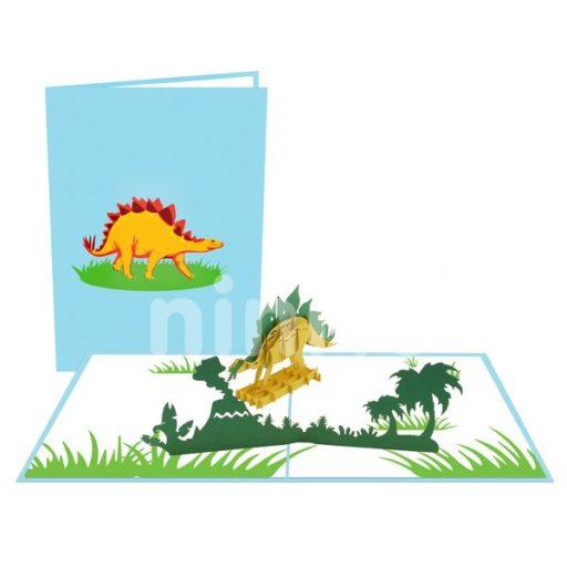 Dinosaur Card – Animal 3D Card