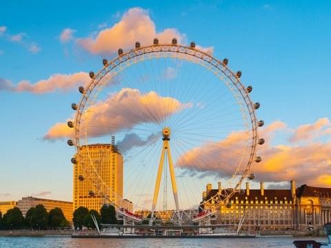London eye, mắt luân