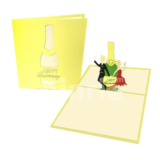 Happy Anniversary Card – Love 3D Popup Card
