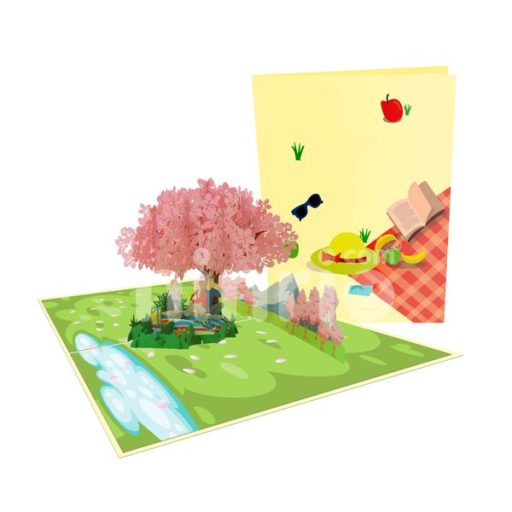 Picnic Card – Birthday 3D Popup Card